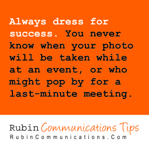 CommTip-DressforSuccess