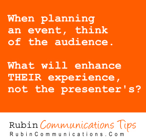 CommTip-EventPlanning